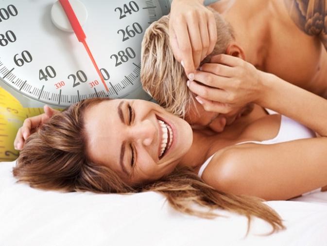 Calorías cuando practicas sexo